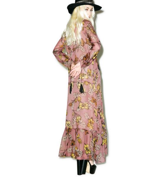 For Love & Lemons Santa Rosa Maxi Dress