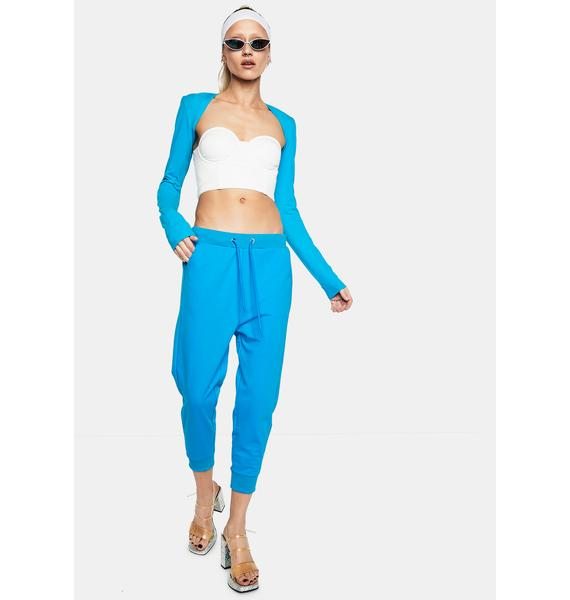 Club Exx Change The Tempo Cropped Joggers