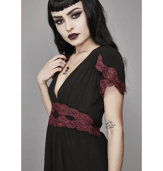 Widow Bloody Valentine A-Line Dress