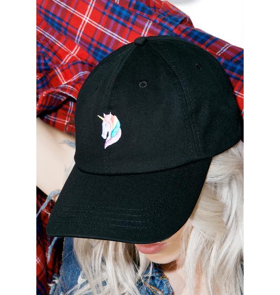 CRSHR Rainbow Unicorn Dad Hat