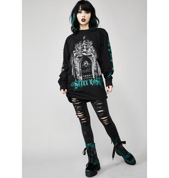 Widow Lost In Ruin Graphic Tee