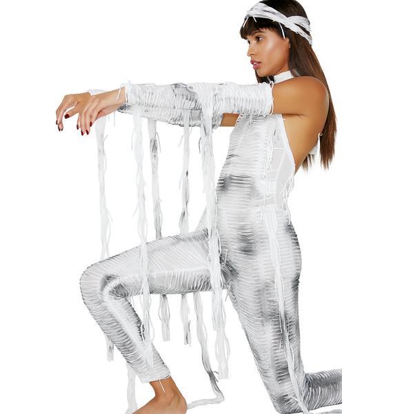 Dolls Kill Call Ur Mummy Costume