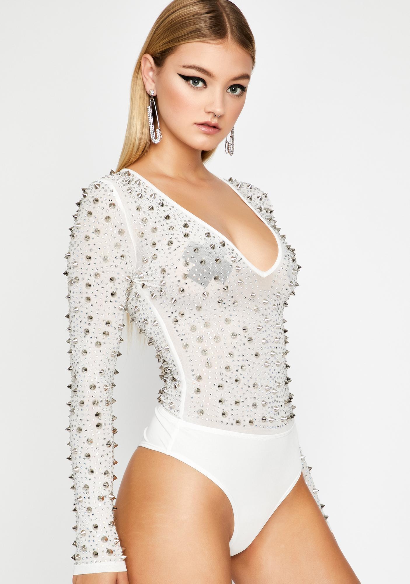 Angelic Killer Cute Studded Bodysuit
