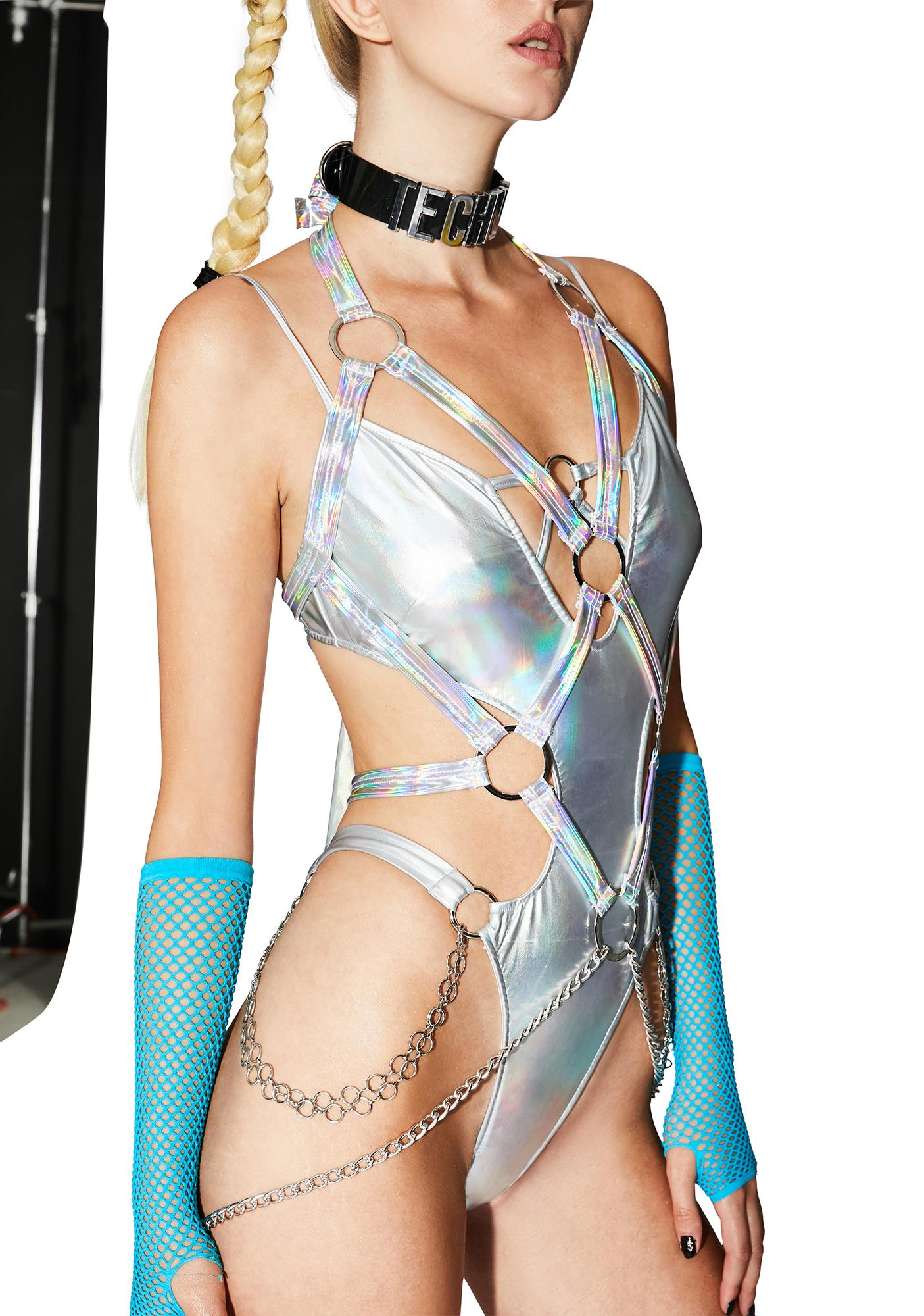 Roma Electric Chaos Iridescent Harness