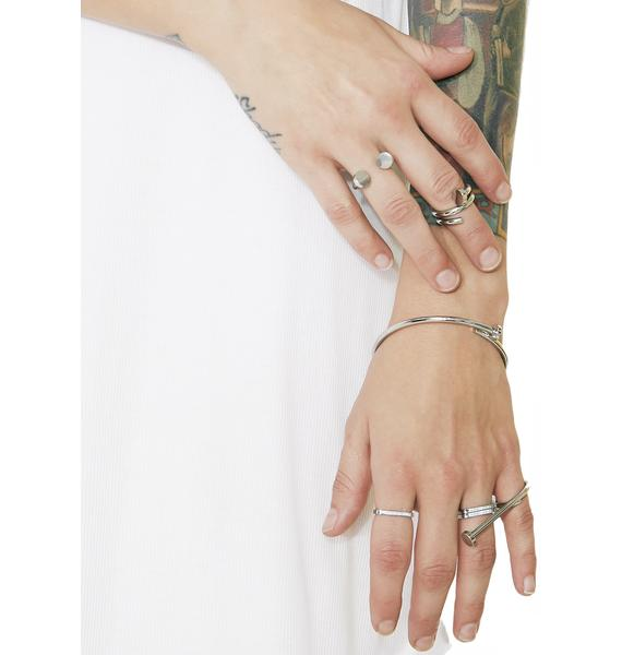 Cheap Monday Nailed Rings