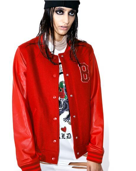 Blood Of My Blood Varsity Jacket