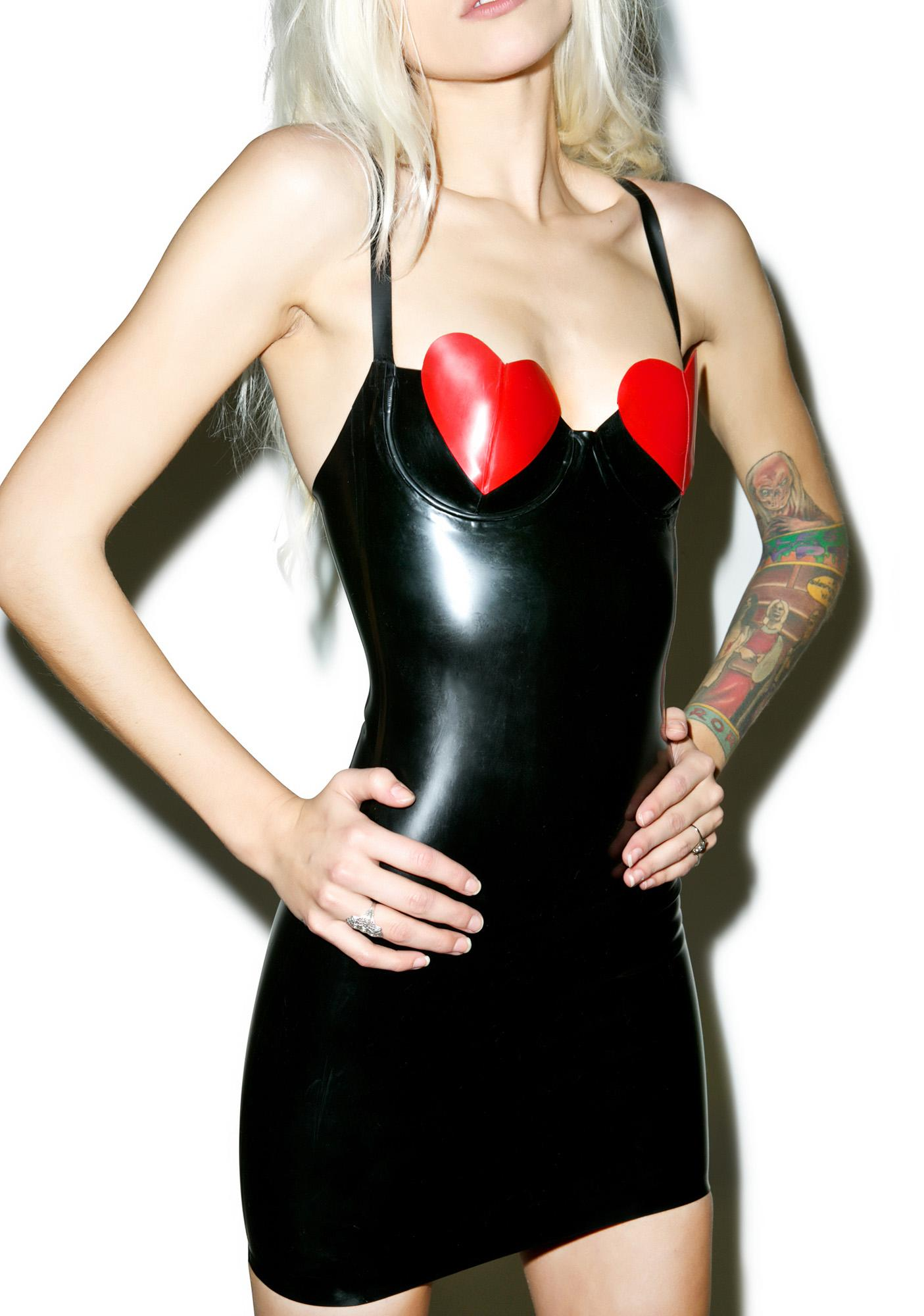 Jane Doe Latex Bettie Dress