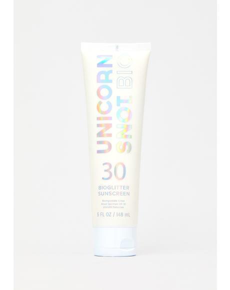Bioglitter Sunscreen