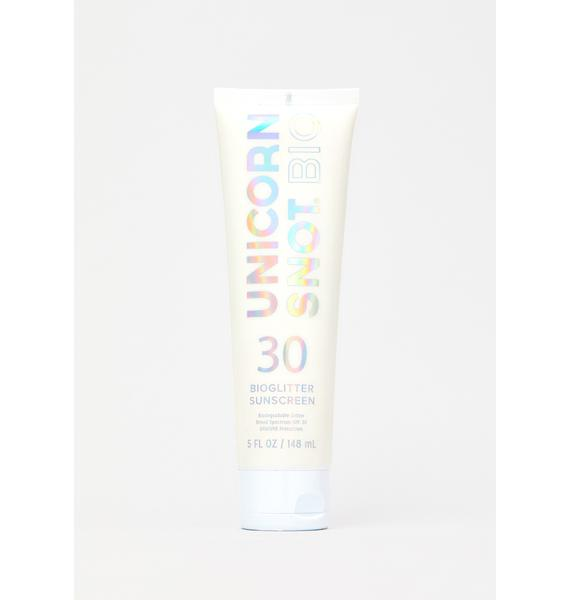 Unicorn Snot Bioglitter Sunscreen
