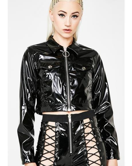 Nocturnal Fantasy Cropped Jacket