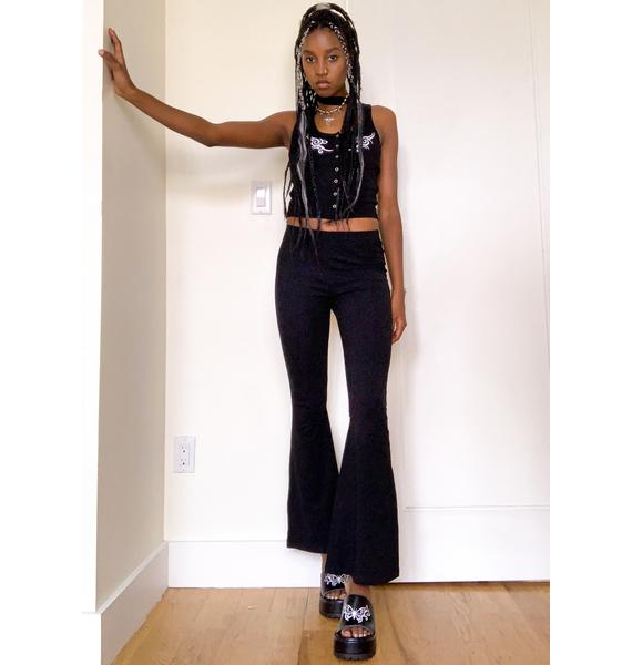 dELiA*s by Dolls Kill Join The Club Flare Pants