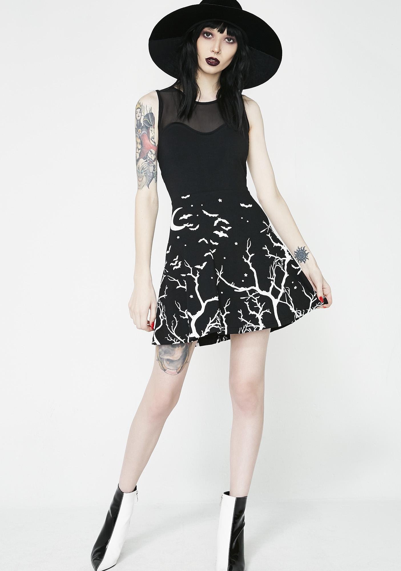 Too Fast Evelyn Mini Flare Dress