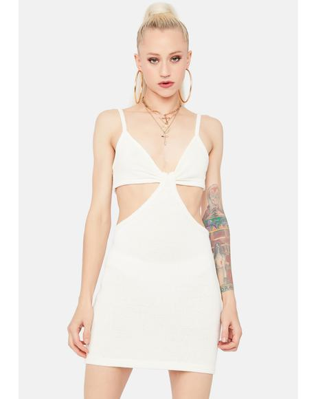 Freeze Lost In The Crowd Cut Out Mini Dress