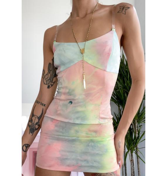 Juicy Dreams Of Heaven Mini Dress