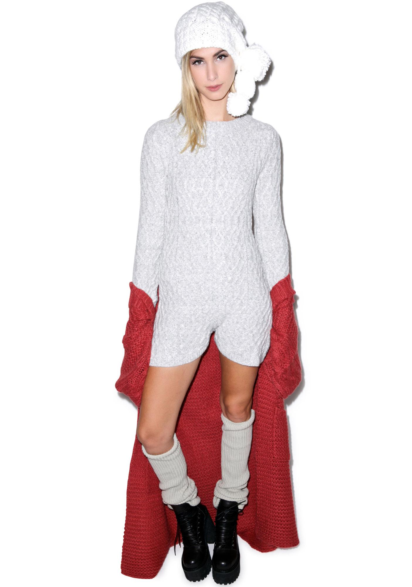 For Love & Lemons Snow Day Onesie