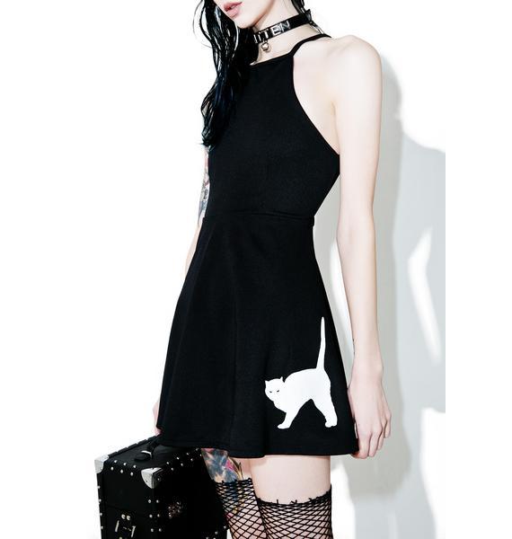 Purr On Ova Skater Dress