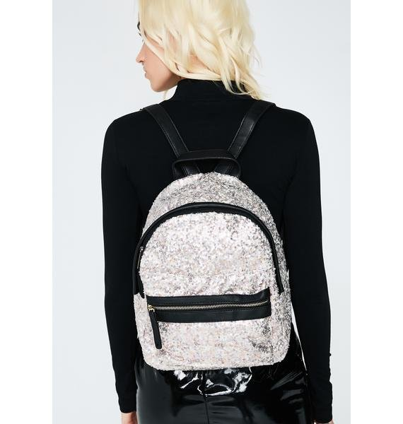 Light In The Dark Sequin Backpack