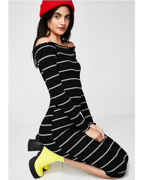 Your Inspiration Stripe Dress