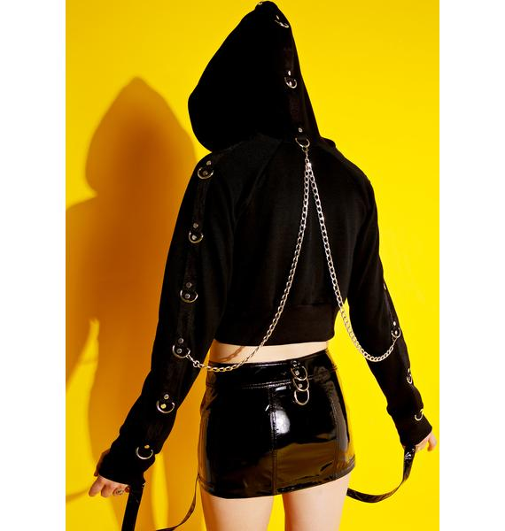 Current Mood Bondage Behavior Hoodie