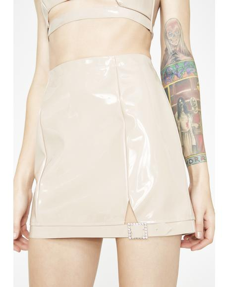 High Roller Latex Skirt