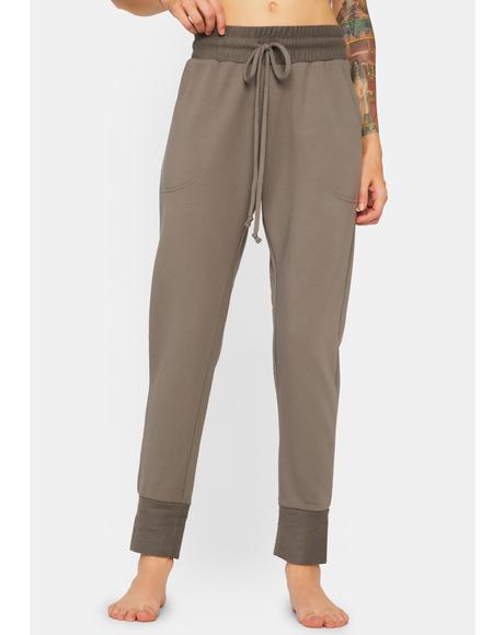 Charcoal Sunny Skinny Sweatpants