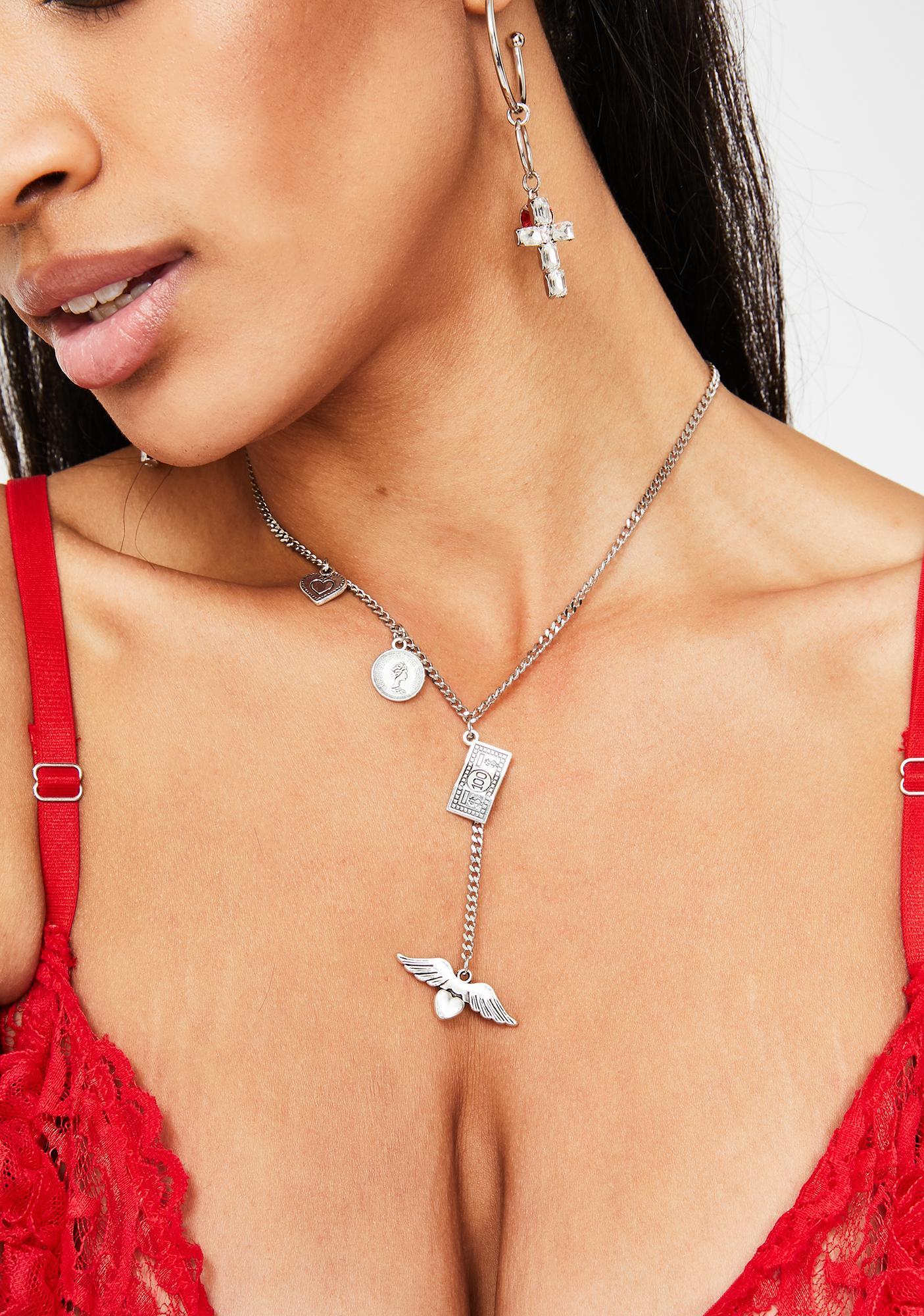 Fantasy Life Charm Necklace