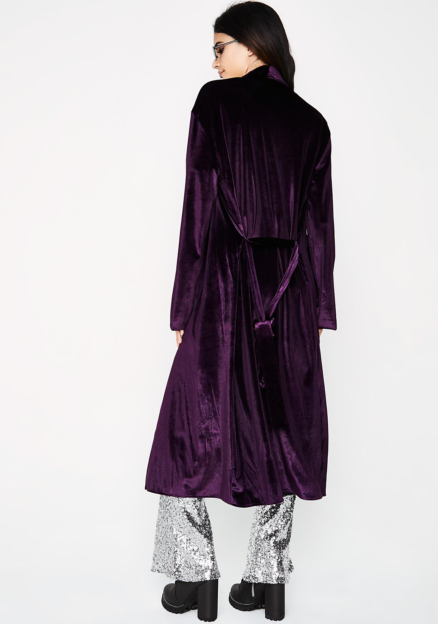 Lounge Queen Velvet Robe