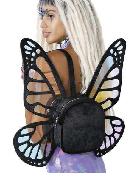 Mystical Monarch Mini Backpack