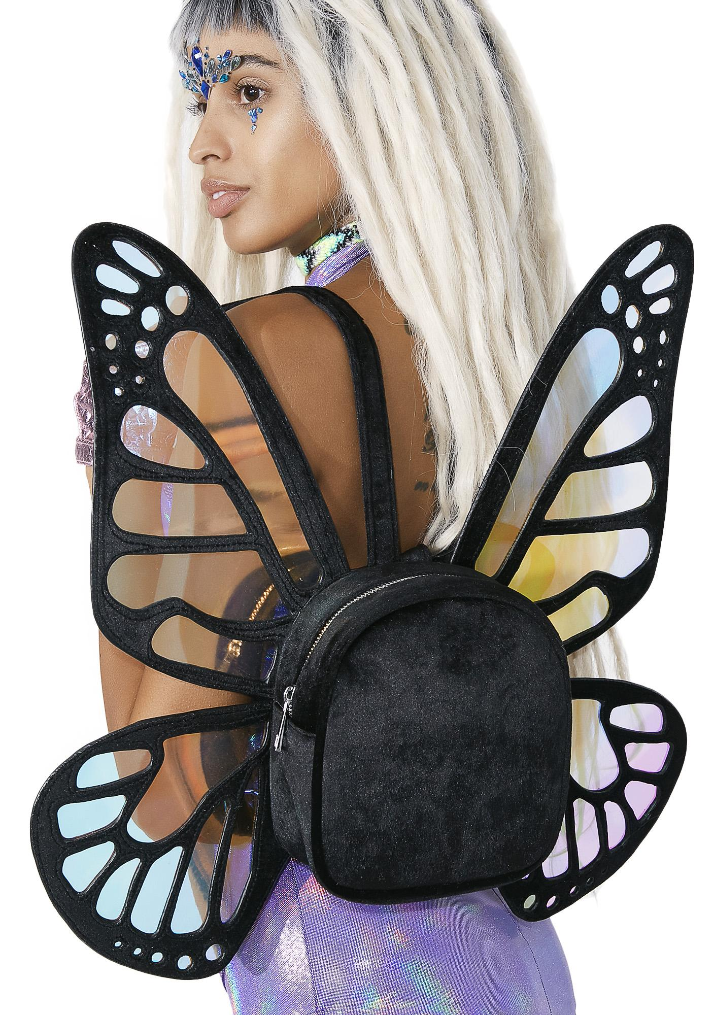 Current Mood Mystical Monarch Mini Backpack