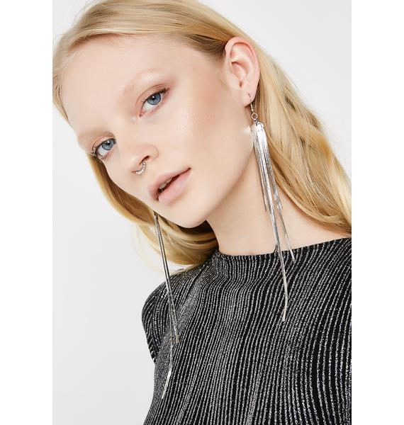 Flowing In Earrings