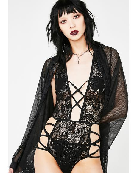 Drop Dead Gorgeous Lace Teddy