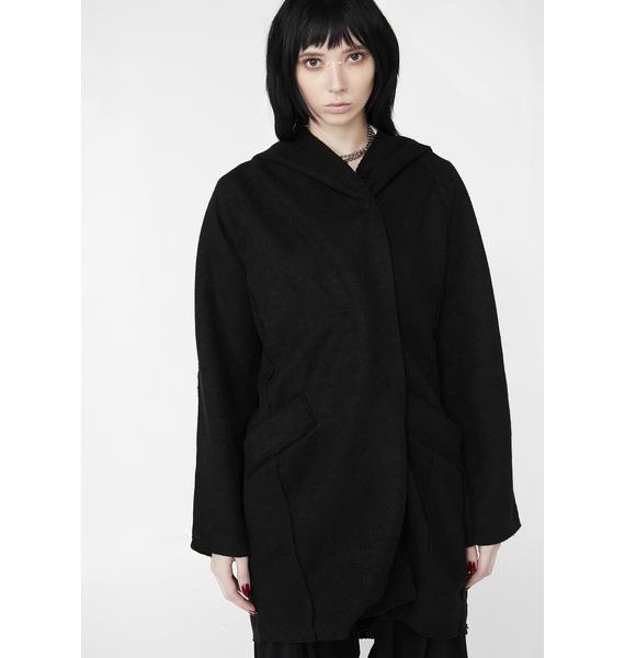 MNML Dark Phantom Oversize Cardigan