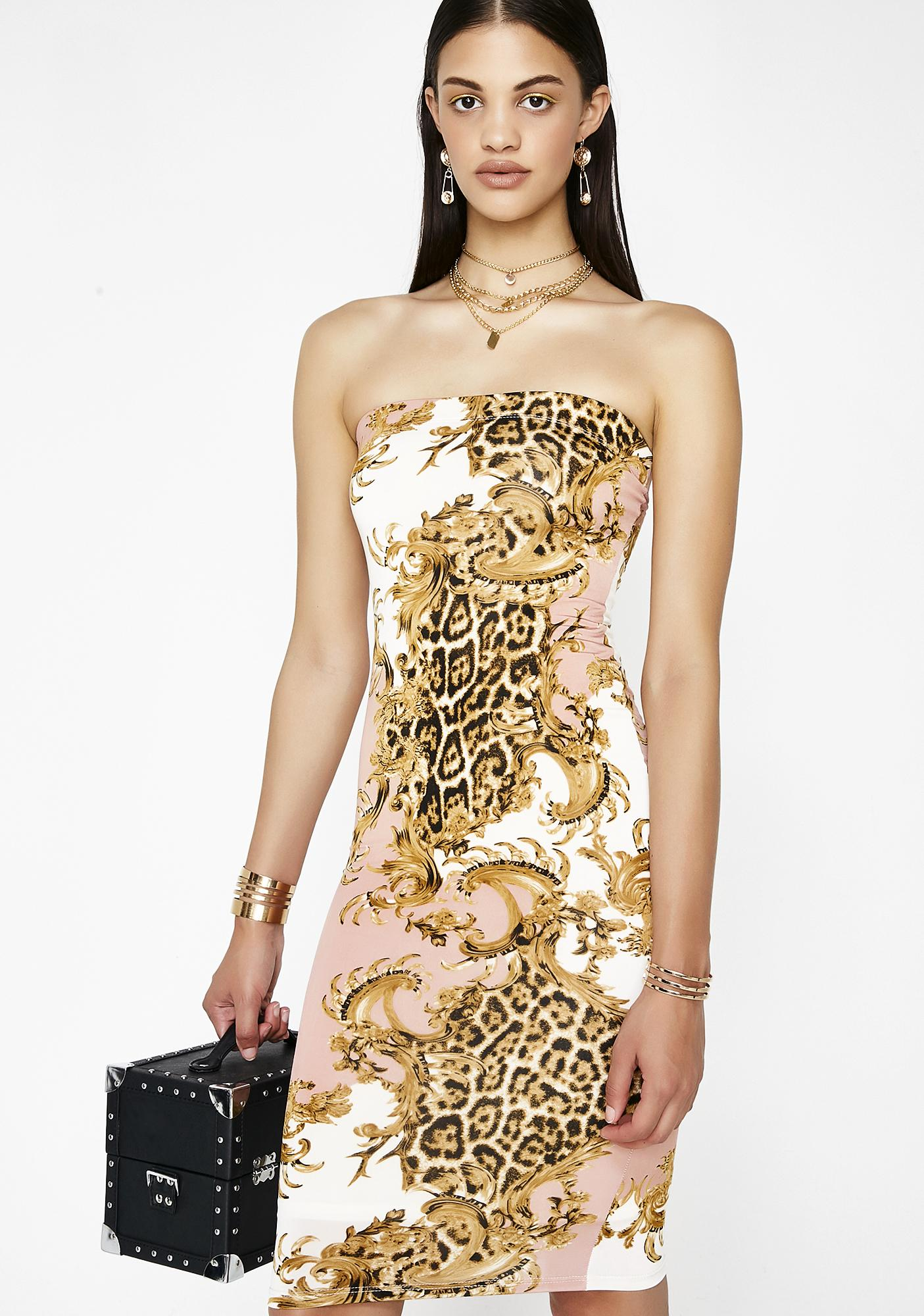Serve Them Sass Midi Dress by Hot Delicious