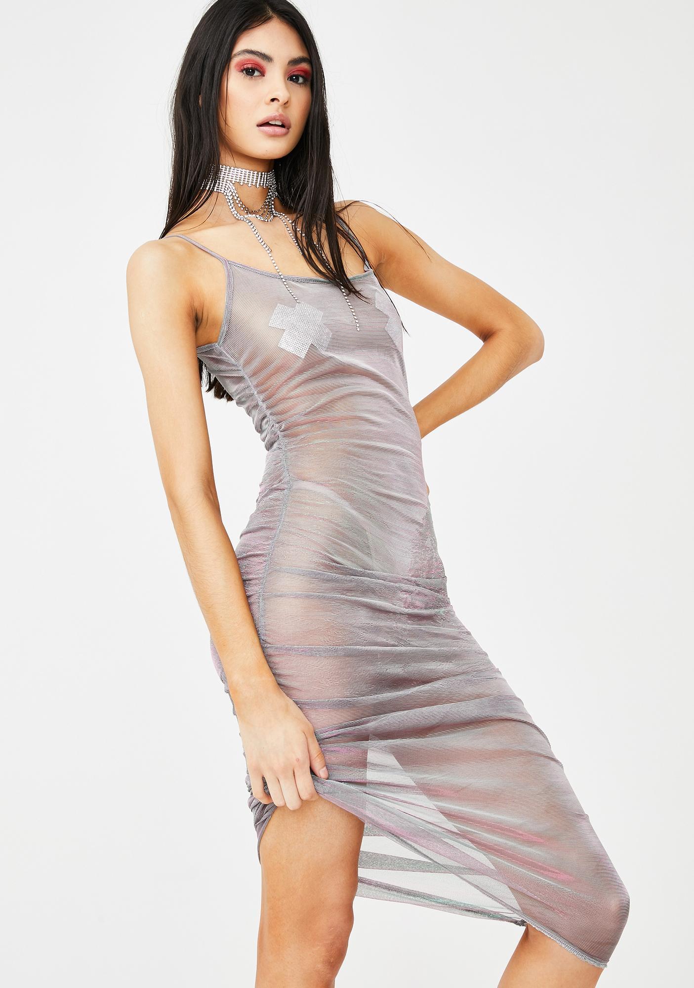 Elsie & Fred Paradiso Sheer Dress