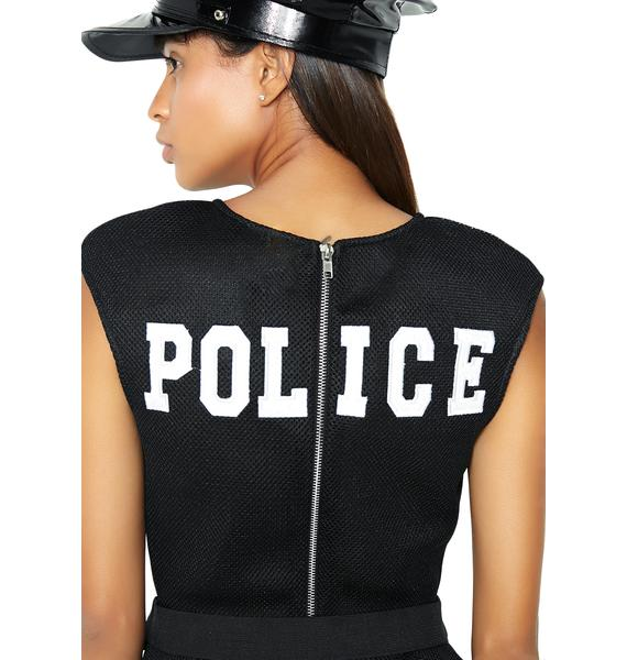 Under Arrest Police Officer Costume