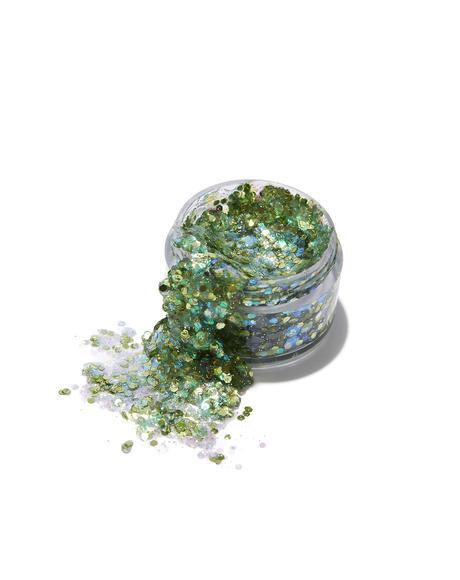 Seahorse Green Glitter Gel