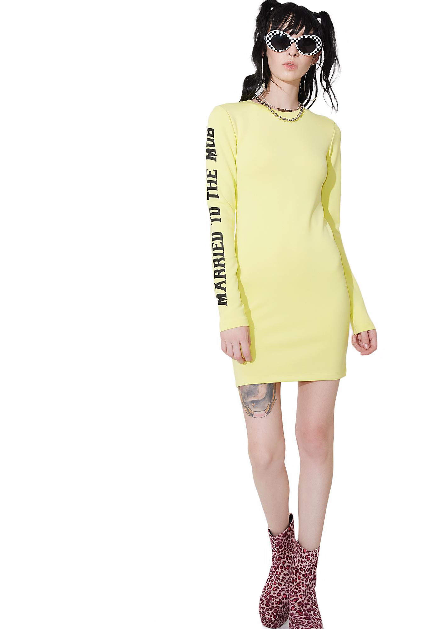 Married to the Mob MTTM Bodycon Dress