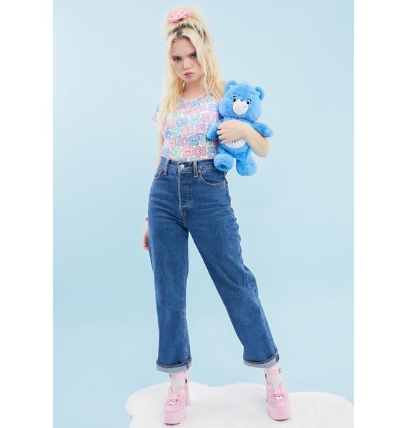 Dolls Kill x Care Bears Friends Furever Mesh Tee
