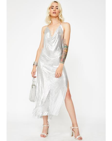 Hollywood Holiday Maxi Dress