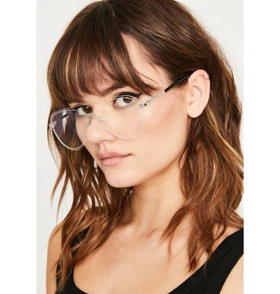 Wicked Stop N' Stare Aviator Sunglasses