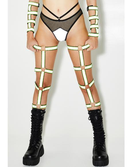 Radioactive Reflective Leg Cages