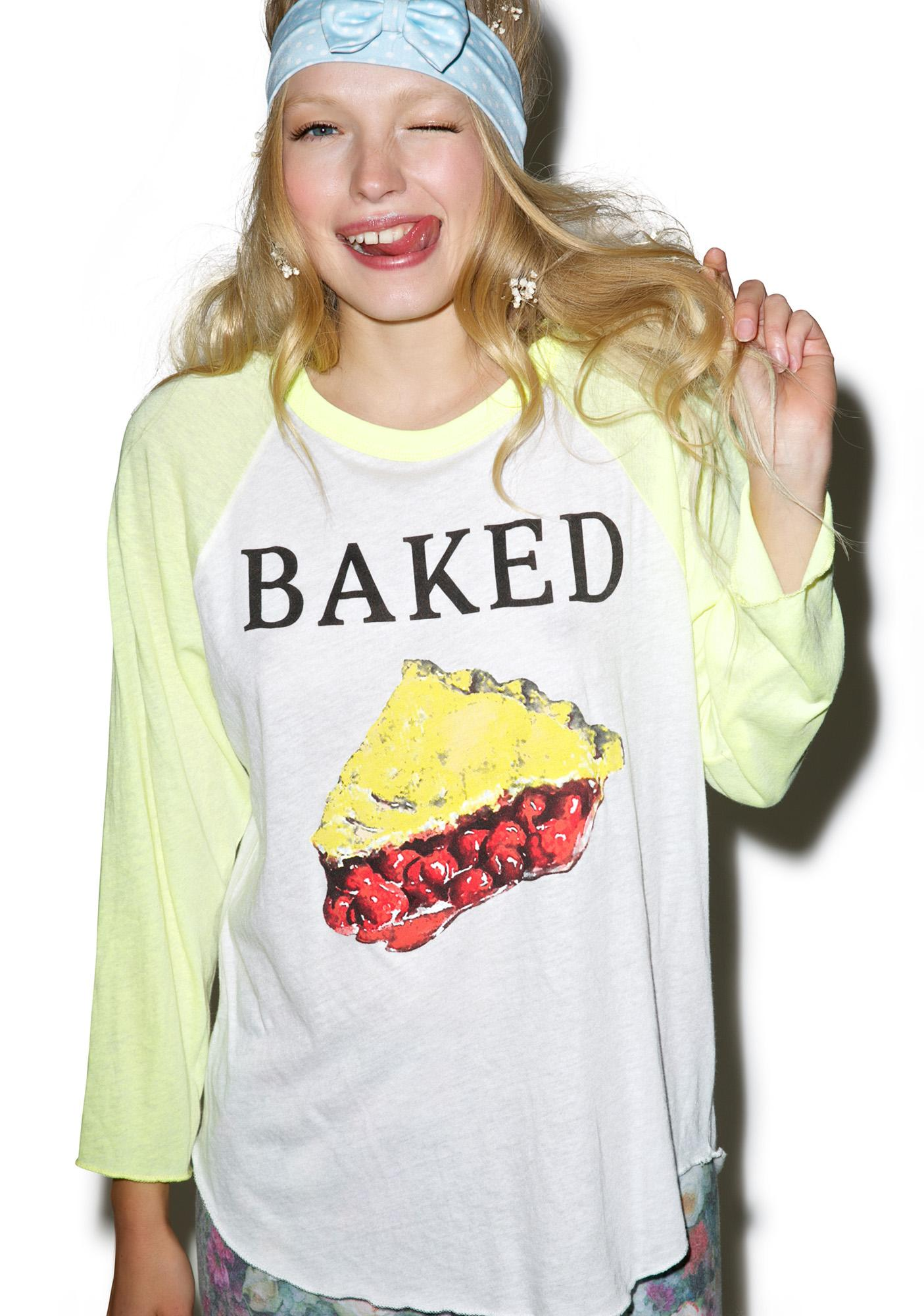 Wildfox Couture Baked Rebel Raglan