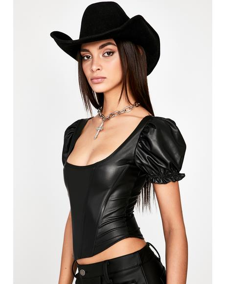 Deluxe Damage Corset Top