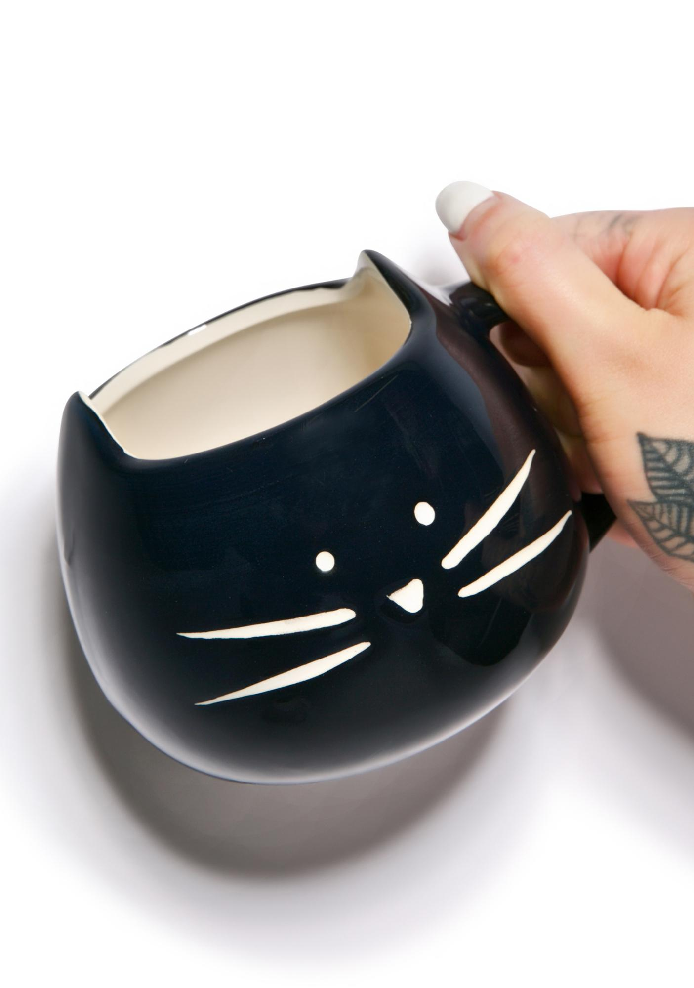 Black Kitty Mug