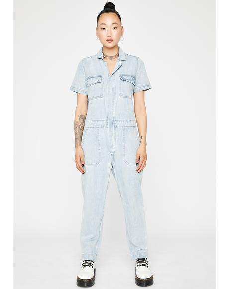 On Duty Cargo Jumpsuit