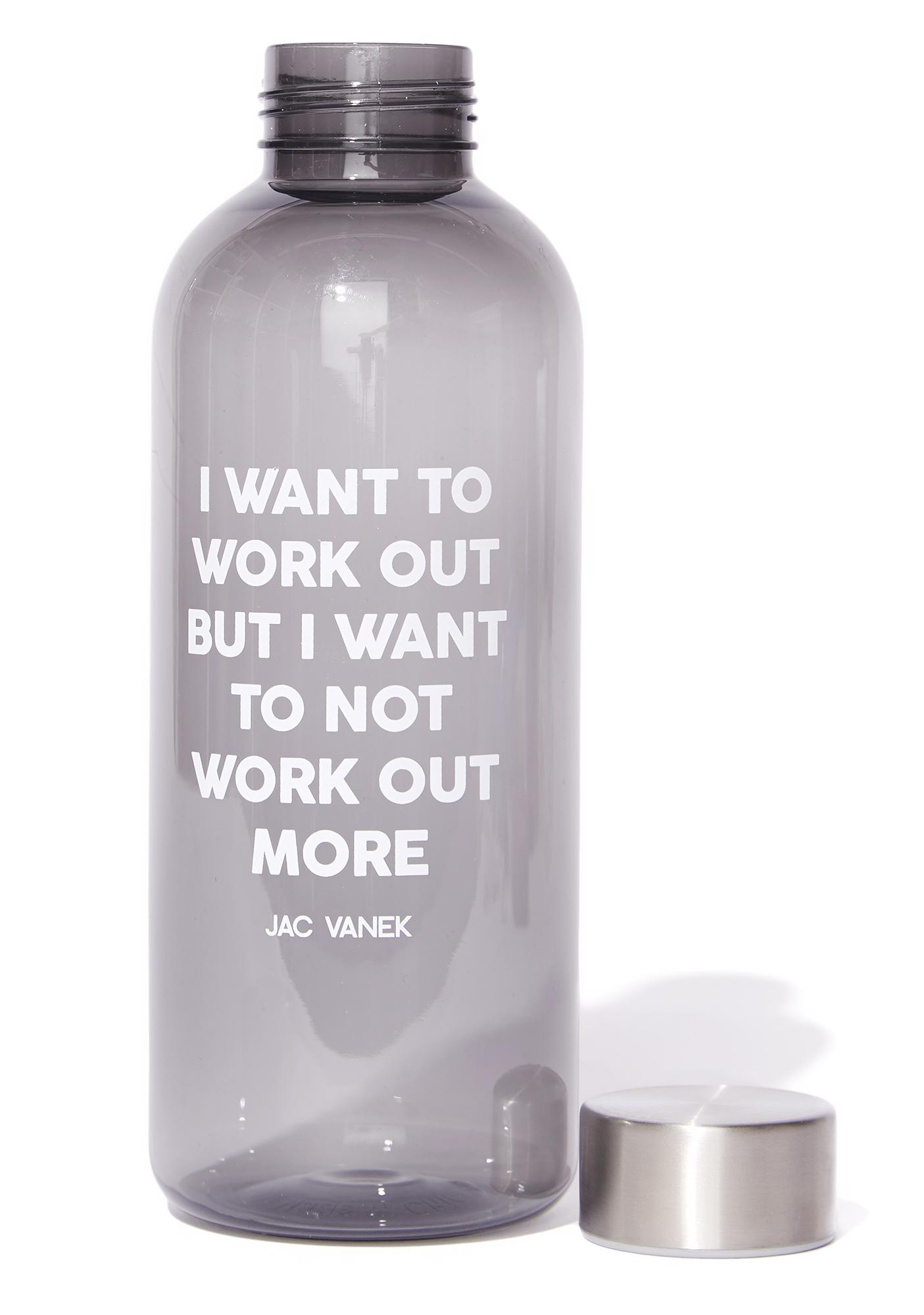 Jac Vanek Work Out 20oz Water Bottle