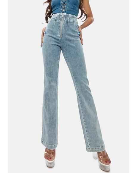 Chill Rumors Flare Jeans