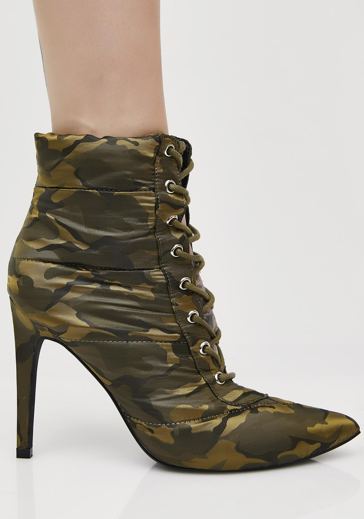 2074ec6b238e Camo Street Cred Ankle Boots
