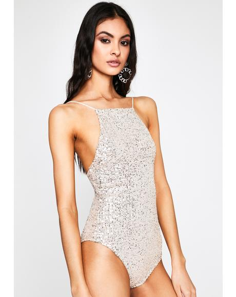Elite Empire Sequin Bodysuit