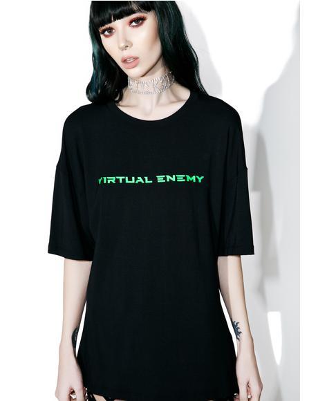 Virtual Enemy Tee